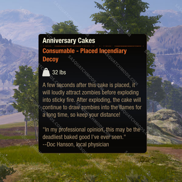 state of decay 2 anniversary cakes