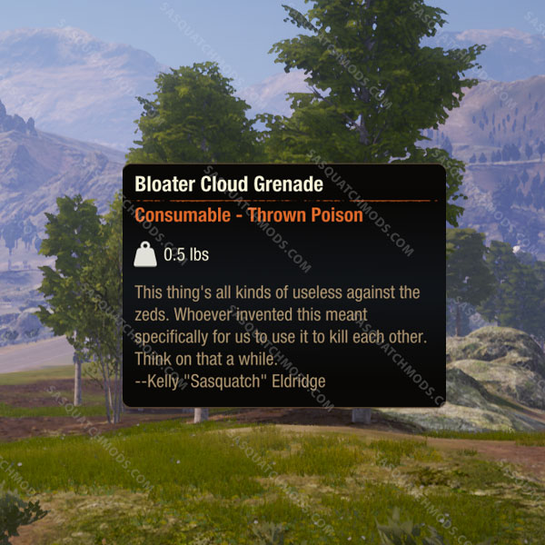 state of decay 2 bloater cloud grenades