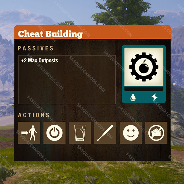 state of decay 2 cheat facility