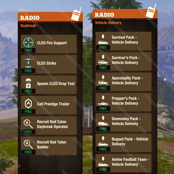 state of decay 2 unlocked radio calls